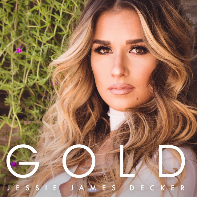Album cover for Gold by Jessie James Decker