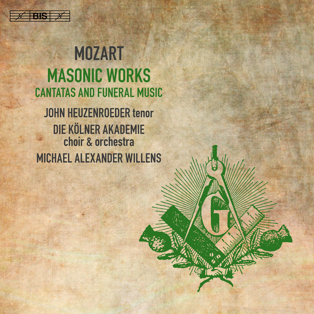 Mozart: Masonic Works – Cantatas & Funeral Music