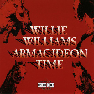 Willie Williams Armagideon Time cover