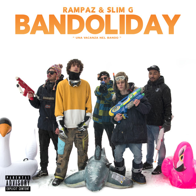 Album cover for Bandoliday by Rampaz, Slim G