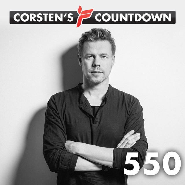 Album cover for Corsten's Countdown 550 by Ferry Corsten