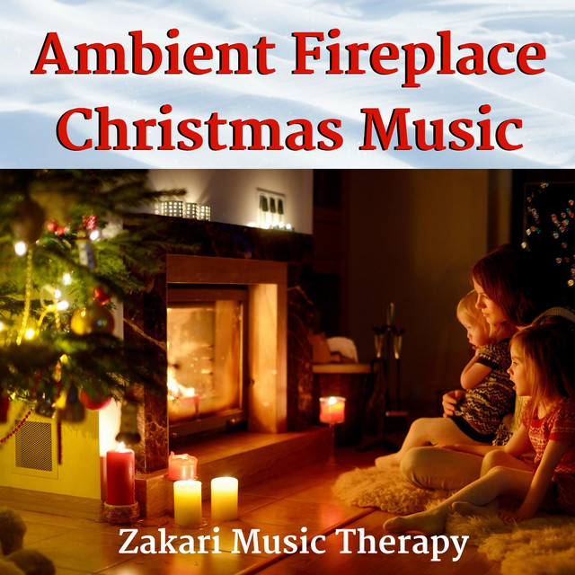 Fireplace With Christmas Music.Ambient Fireplace Christmas Music By Zakari Music Therapy On