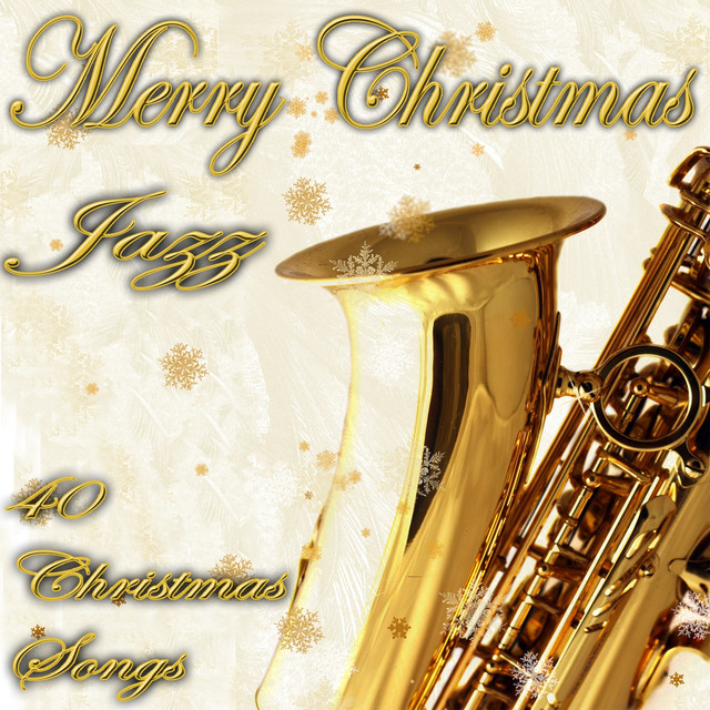 Various Artists Merry Christmas in Jazz (40 Christmas Songs) album cover