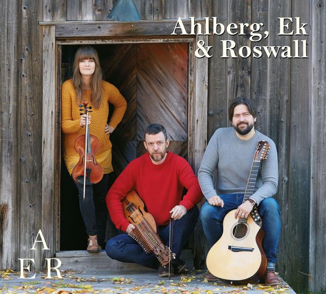 Skivomslag för Ahlberg, Ek & Roswall: AER