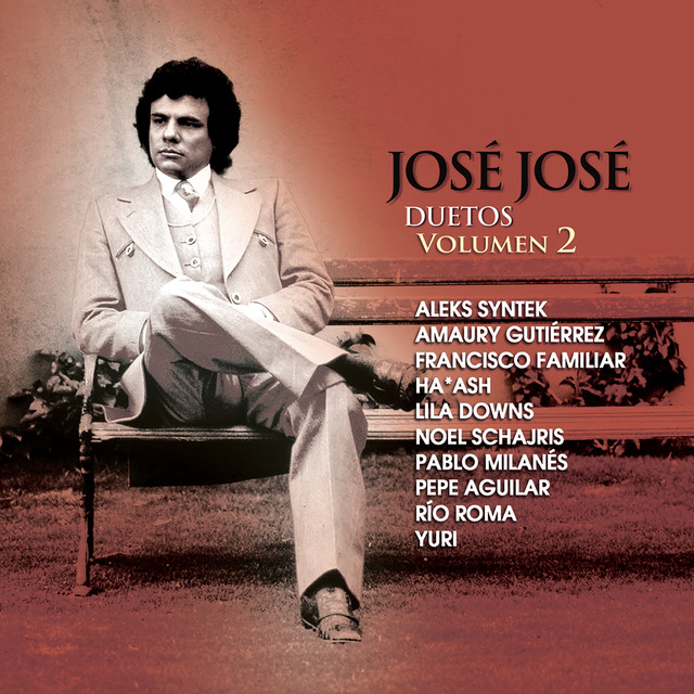 Album cover for José José Duetos Volumen 2 by José José
