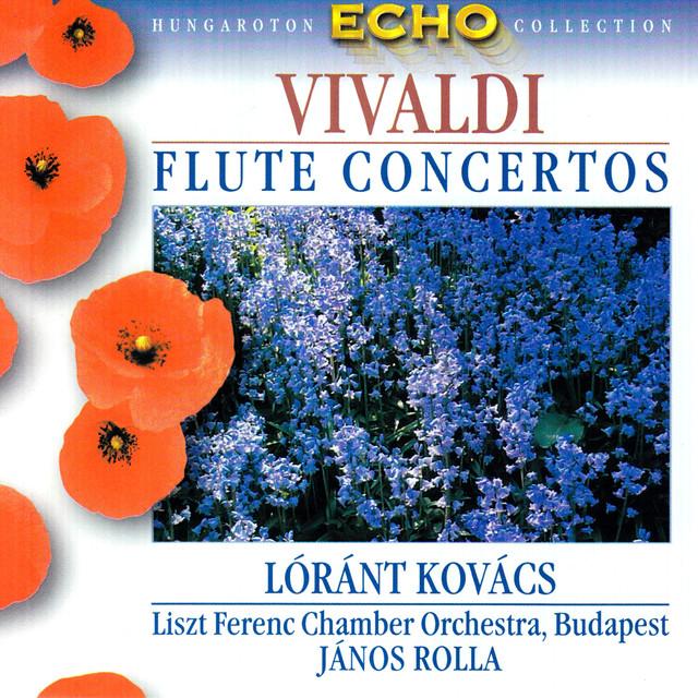 Vivaldi: 6 Flute Concertos, Op. 10 Albumcover