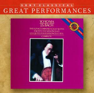 Bach: Unaccompanied Cello Suites [Great Performances] Albumcover