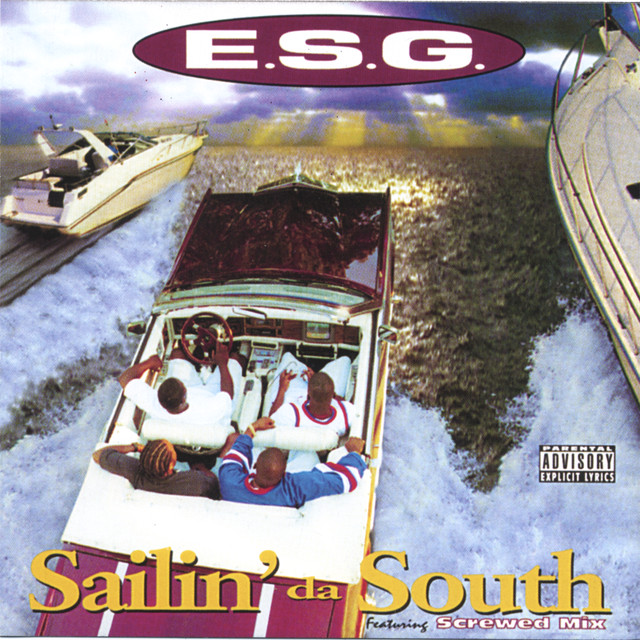 E.S.G. Sailin' Da South album cover