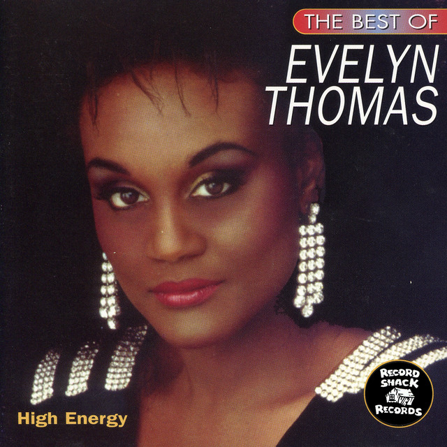 """The Best of Evelyn Thomas """"High Energy"""""""
