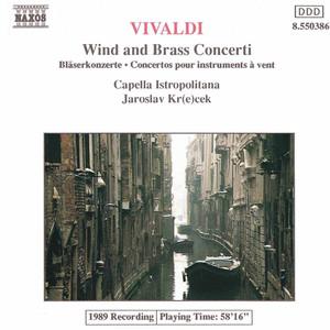 Vivaldi: Wind and Brass Concertos Albumcover
