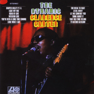 Clarence Carter Too Weak to Fight cover
