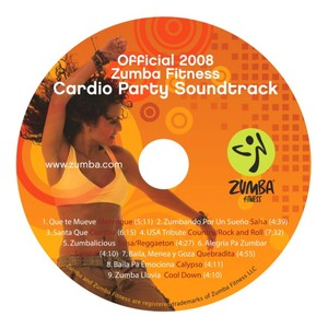Zumba Fitness Cardio Party Soundtrack Albumcover