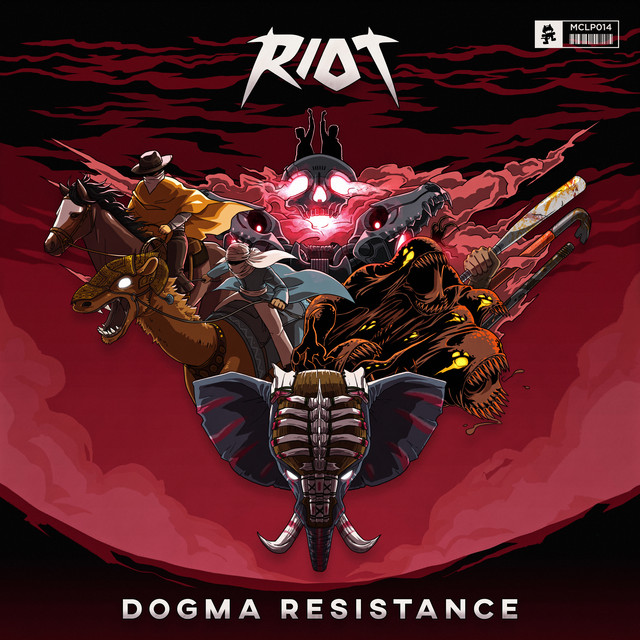 Album cover for Dogma Resistance by RIOT