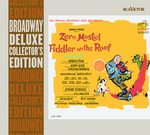 Zero Mostel, Maria Karnilova, Beatrice Arthur, Michael Granger, Leonard Frey, Paul Lipson, Fiddler on the Roof Ensemble Anatevka cover