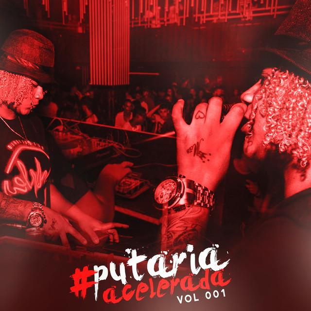 Album cover for Putaria Acelerada (Vol 1) by Iasmin Turbininha