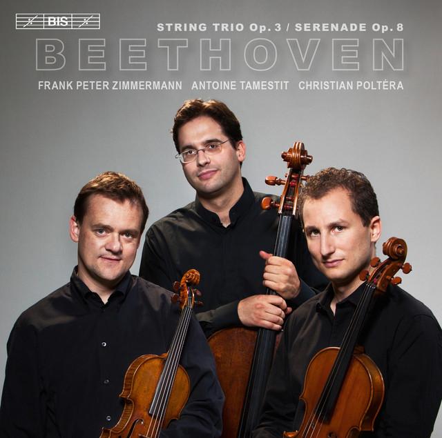 Beethoven: String Trio, Op. 3 & Serenade, Op. 8 Albumcover