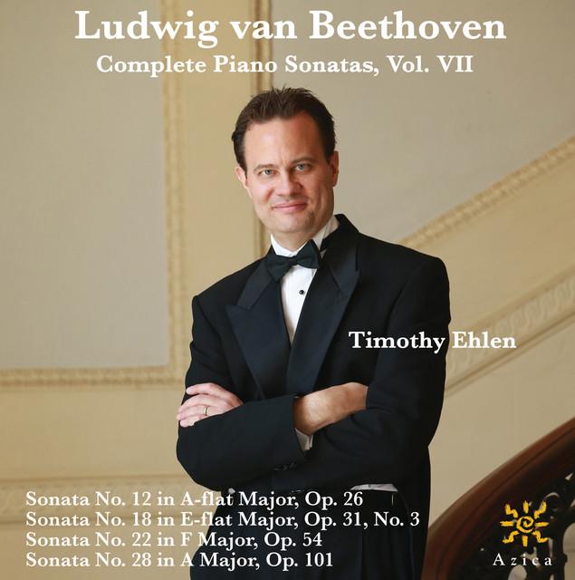 Beethoven: Complete Piano Sonatas, Vol. VII Albumcover