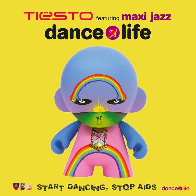 Tiësto, Maxi Jazz Dance4Life (Feat. Maxi Jazz) album cover