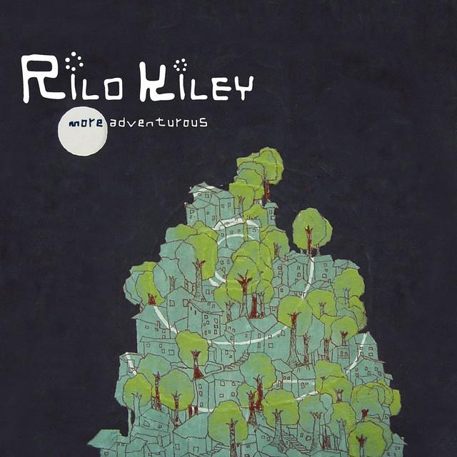 Album cover for More Adventurous by Rilo Kiley