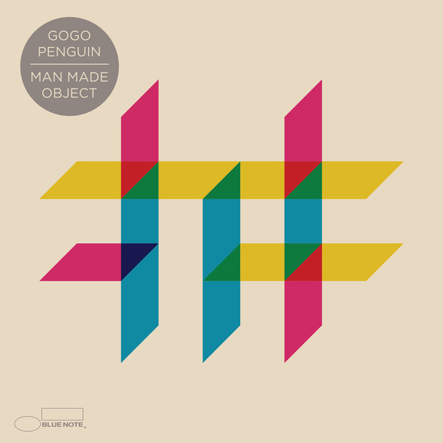 Album cover for Man Made Object by GoGo Penguin