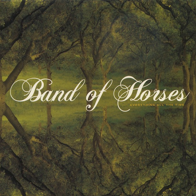 Album cover for Everything All The Time by Band of Horses