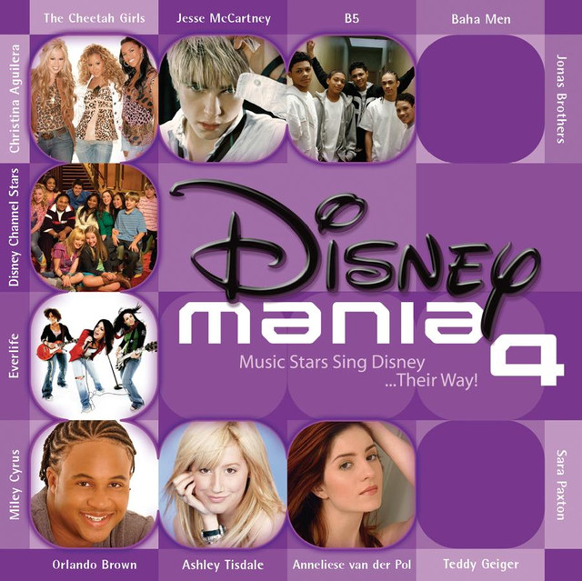 Various Artists Disneymania 4 album cover