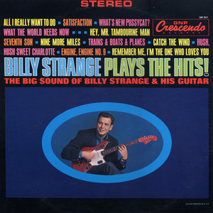 Billy Strange Plays the Hits album