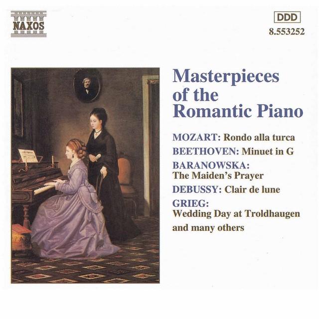 Masterpieces Of The Romantic Piano Albumcover