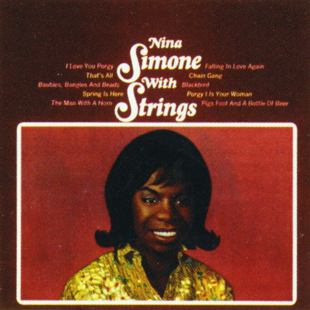 Nina With Strings Albumcover