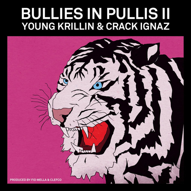 Album cover for Bullies in Pullis II by Young Krillin, Crack Ignaz