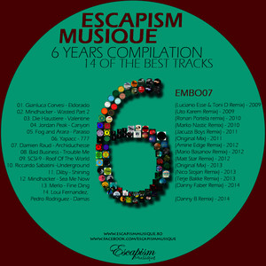 6 Years of Escapism Musique Albumcover