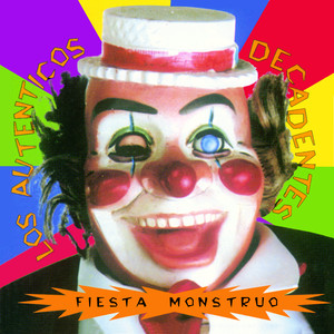 Vinyl Replica: Fiesta Monstruo Albumcover