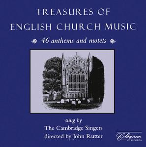 Treasures of English Church Music Albumcover