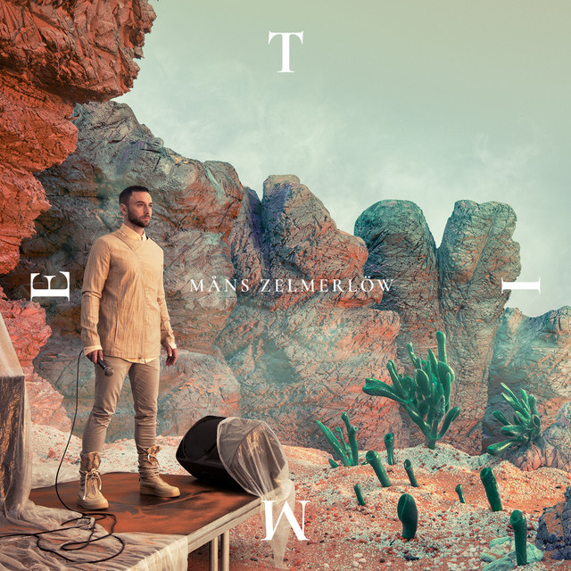 Album cover for TIME by Måns Zelmerlöw