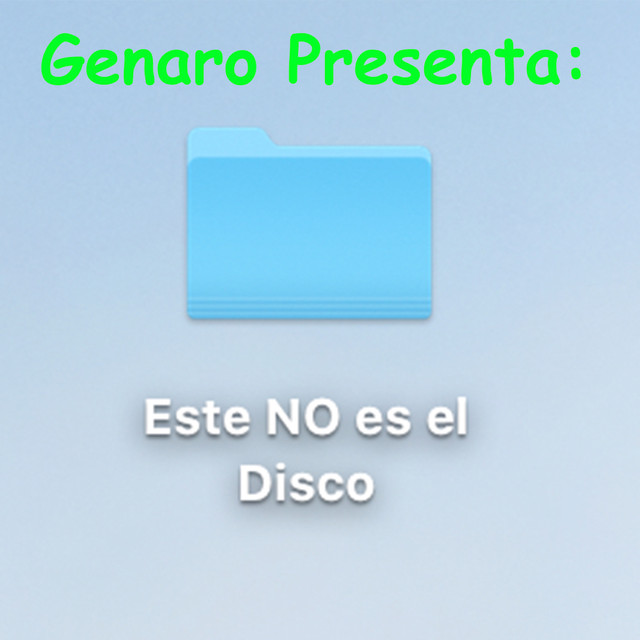 Album cover for Genaro Presenta: Este NO Es El Disco by Sabino