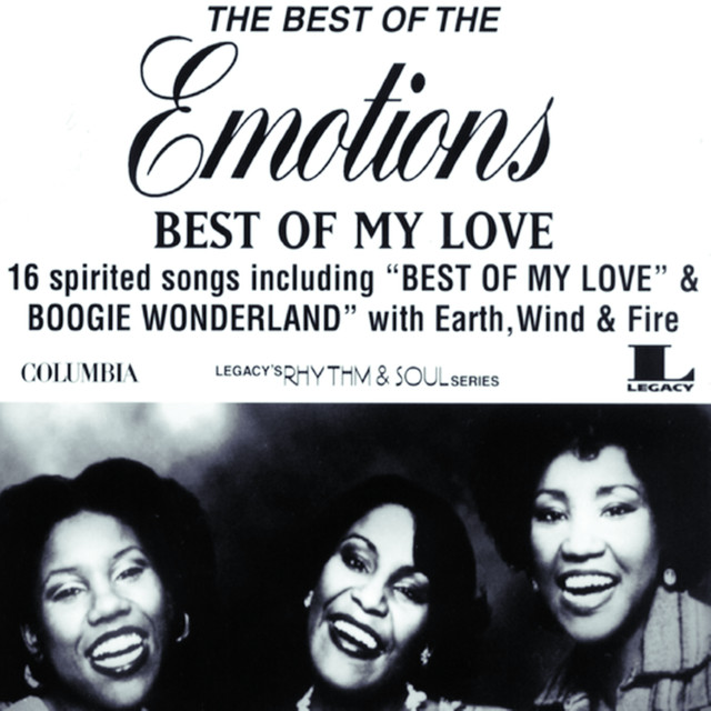 The Emotions Best of My Love: The Best of the Emotions album cover