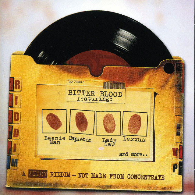 Various Artists Bitter Blood Riddim album cover