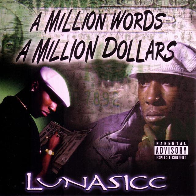 Luni Coleone A Million Words A Million Dollars album cover