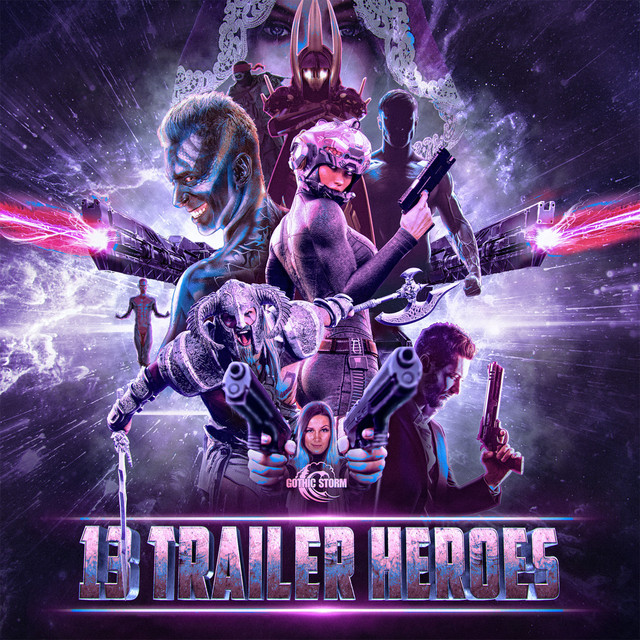 Album cover for 13 Trailer Heroes by Gothic Storm