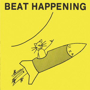 Album cover for Beat Happening by Beat Happening