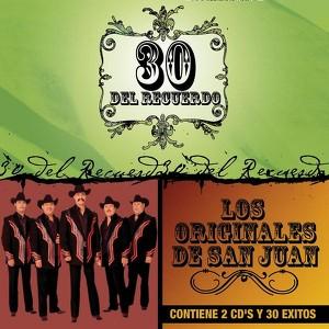 30 Del Recuerdo Albumcover