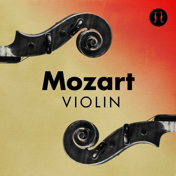Album cover for Mozart Violin by Wolfgang Amadeus Mozart, Various Artists