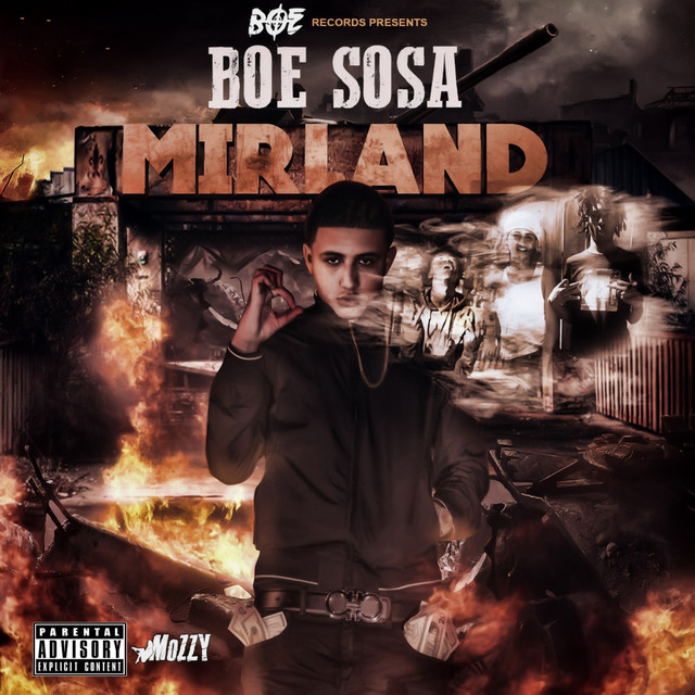 Album cover for Mirland by BOE Sosa