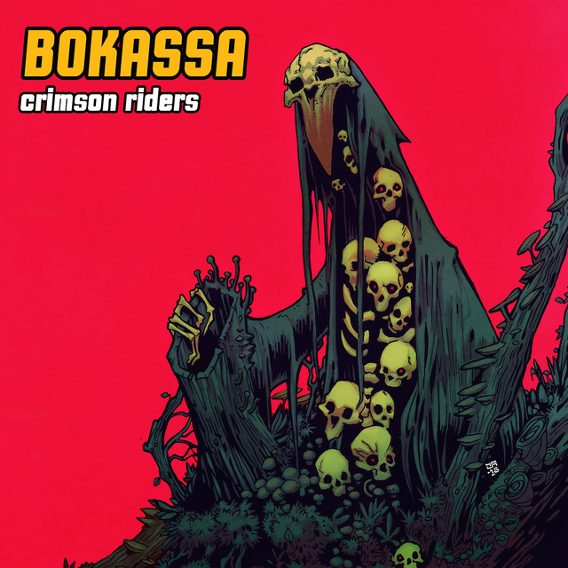 Album cover for Crimson Riders by Bokassa