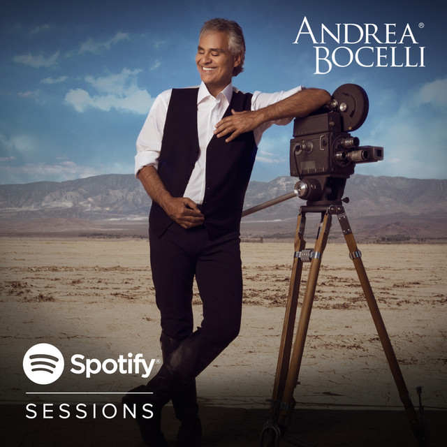 Album cover for Andrea Bocelli Spotify Sessions (Live) by Andrea Bocelli, David Foster
