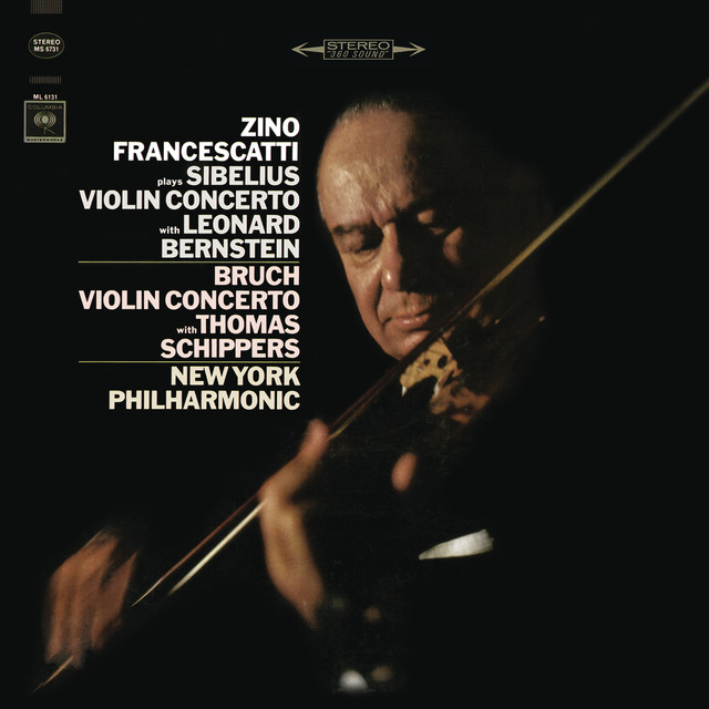 Sibelius: Concerto in D Minor for Violin and Orchestra, Op. 47 & Bruch: Concerto No. 1 in G Minor for Violin and Orchestra, Op. 26 Albumcover