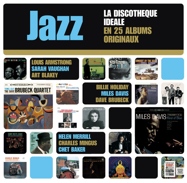 Various Artists The Perfect Jazz Collection - 25 Original Albums album cover
