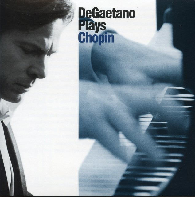 DeGaetano Plays Chopin Albumcover