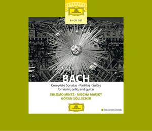 Bach: Complete Sonatas, Partitas & Suties for Violin, Cello & Guitar album