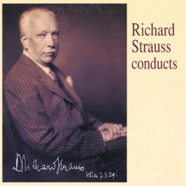 a biography of richard strauss a conductor and composer